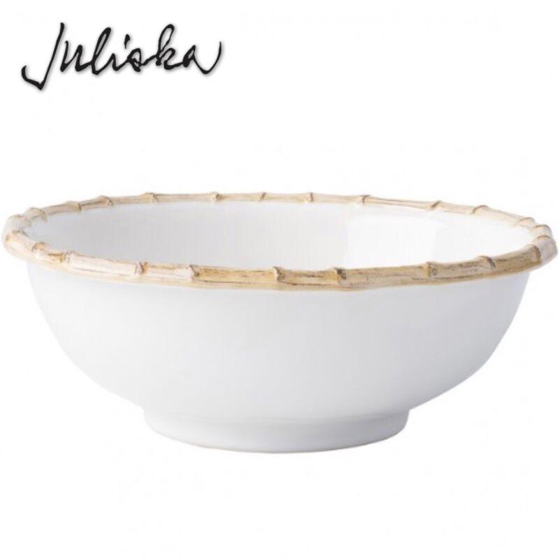 """Juliska Classic Bamboo Natural 11"""" Serving Bowl 3 Qt. New"""