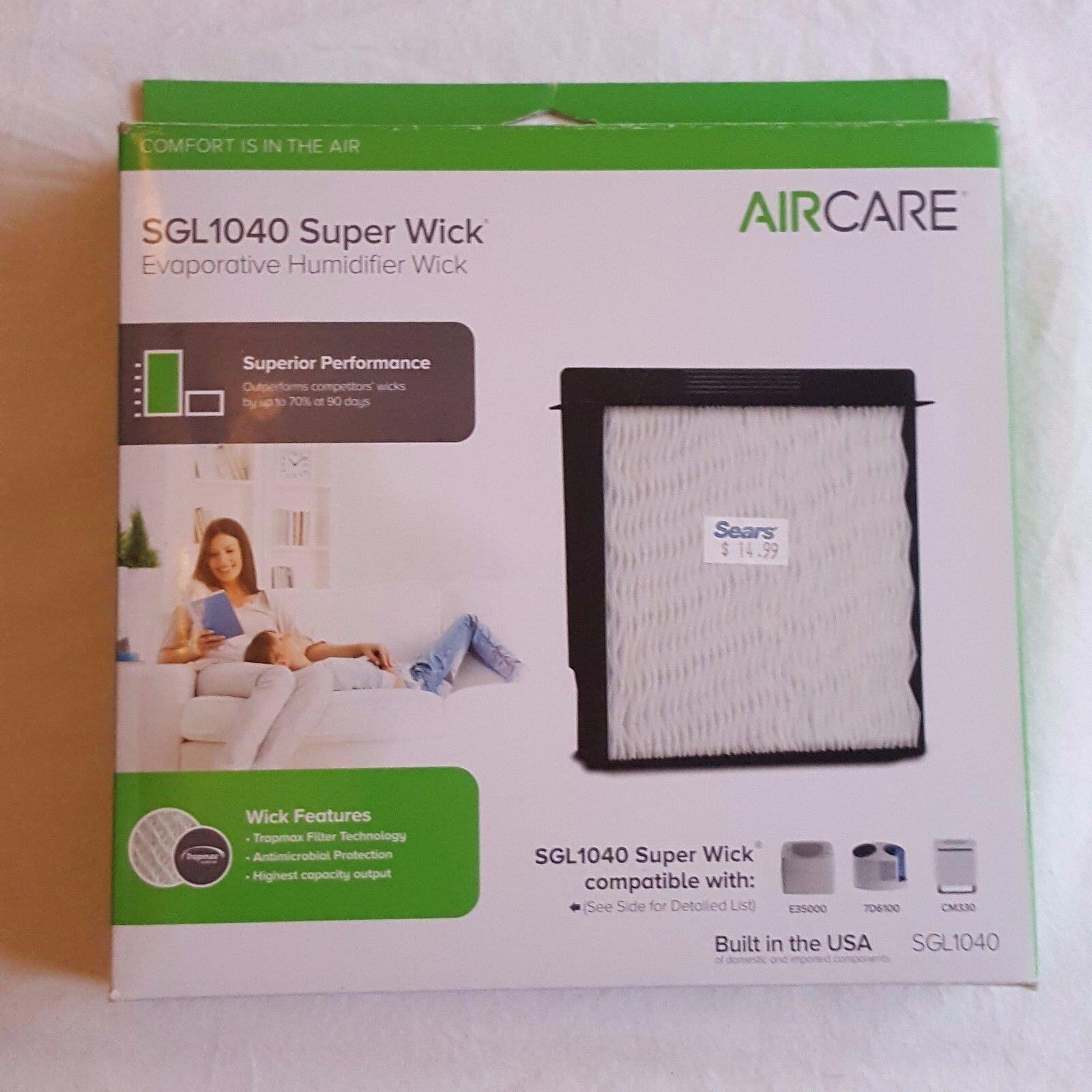 AIRCARE SGL1040 Super Wick , Humidifier Wick Filter