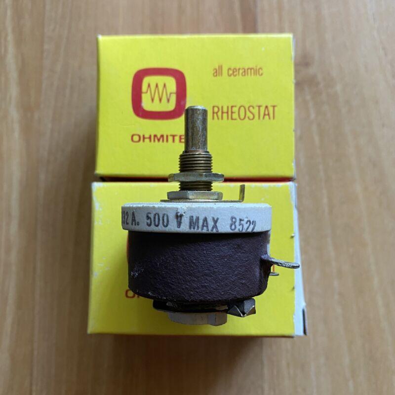 2 OHMITE - All Ceramic RHEOSTAT Wirewound - Model H 25 Watt 4204 RSH25K 2500 OHM