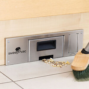 Sweepovac kitchen vacuum for plinths powerful hard floor for Kitchen units without plinths