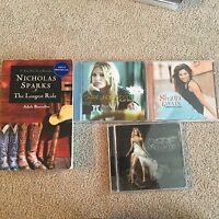 Cd's and book