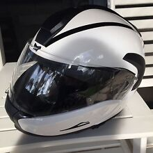 BMW System 6 Flip Front Full Face Helmet Large Currumbin Gold Coast South Preview