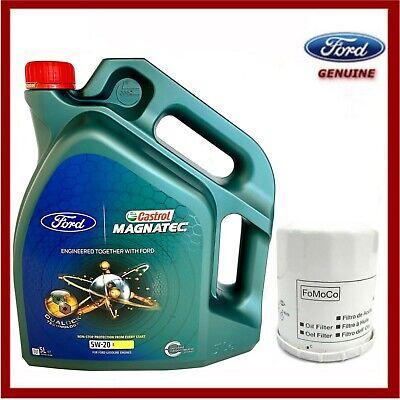 Genuine Ford Fiesta Ecoboost 1.0L 2012> Oil & Filter Service Kit
