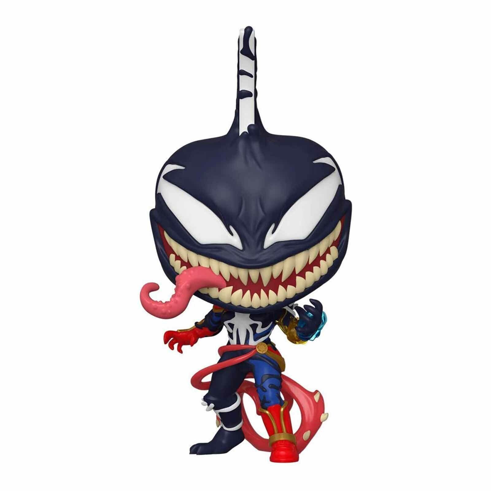 marvel venom pop venomized captain marvel vinyl