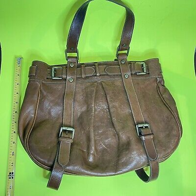 Mulberry Authentic Vintage Brown Leather Bag
