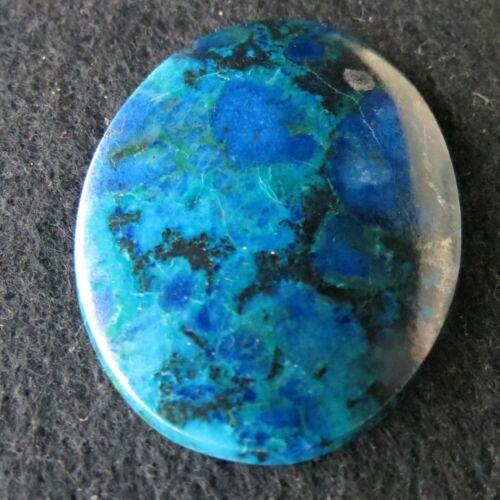AGATES: Azurite Turquoise Polished Cabochon Bisbee, AZ Large OLD STOCK!
