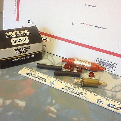 In line fuel filter, Wix, PN 33031.    Item:  9353