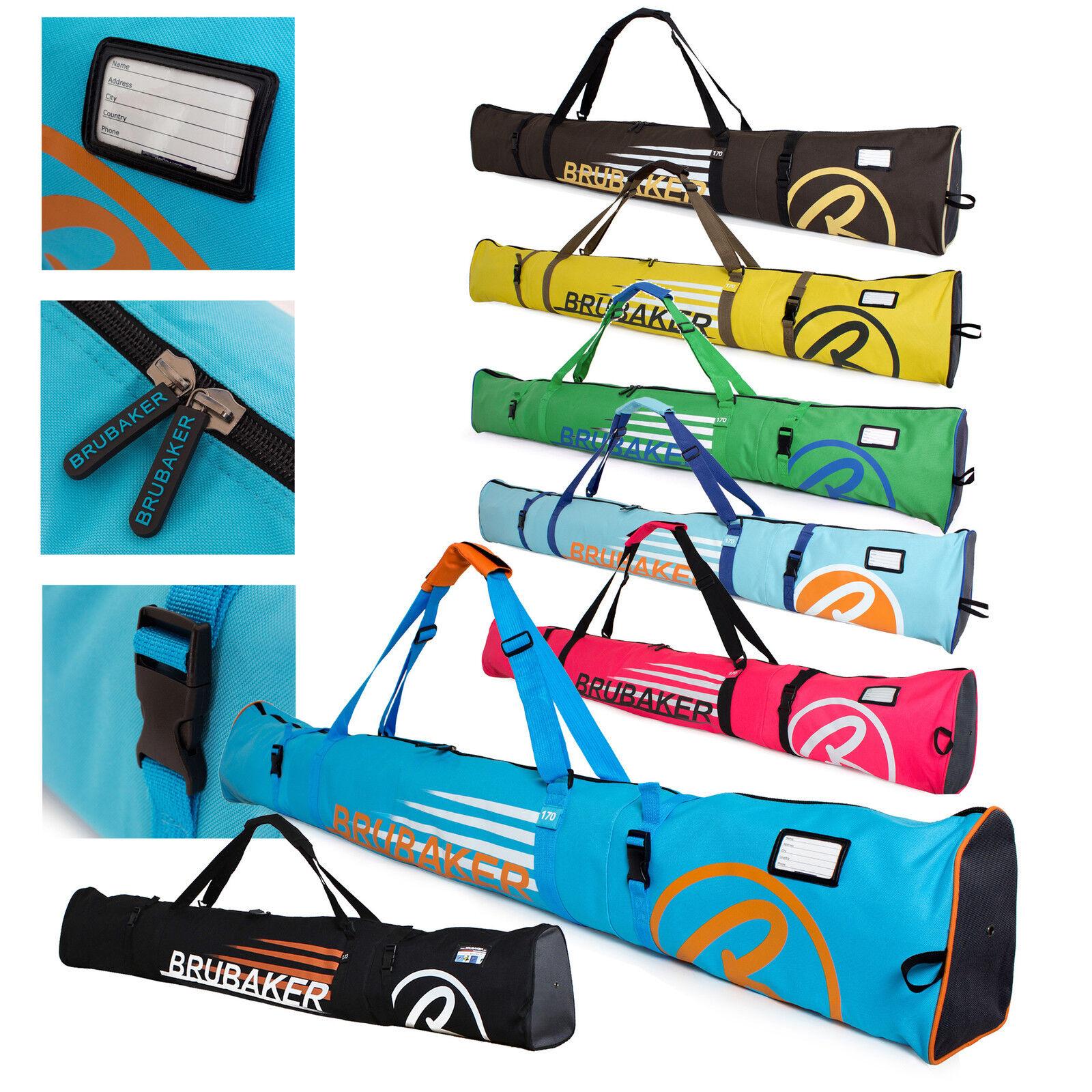 BRUBAKER 'Carver Champion 2.0' Skisack Skitasche Ski bag für 1 Paar Ski + Stöcke