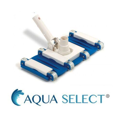 Aqua Select Flex Vac FLX700 Swimming Pool Vacuum Head for Concrete Pools