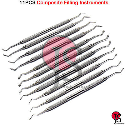 Restorative Composite Filling Instruments Spoon Excavator Pluggers Condenser
