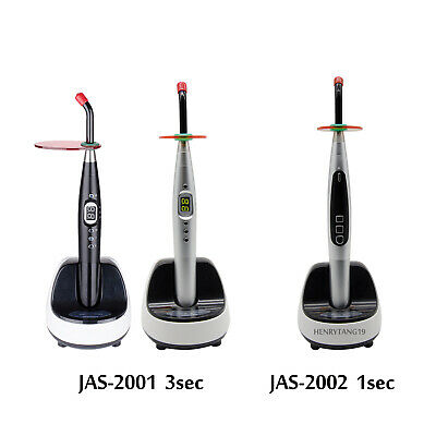 1 Sec 3 Sec Dental Wireless Led Curing Light Lamp 1800-2100mwcm2 Jas-20012