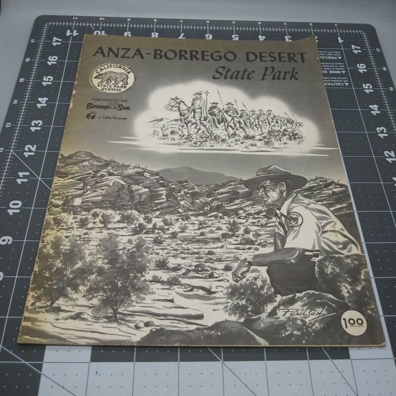 Anza-Borrego Desert State Park California State Park System 1971 Guide Blk & Wht