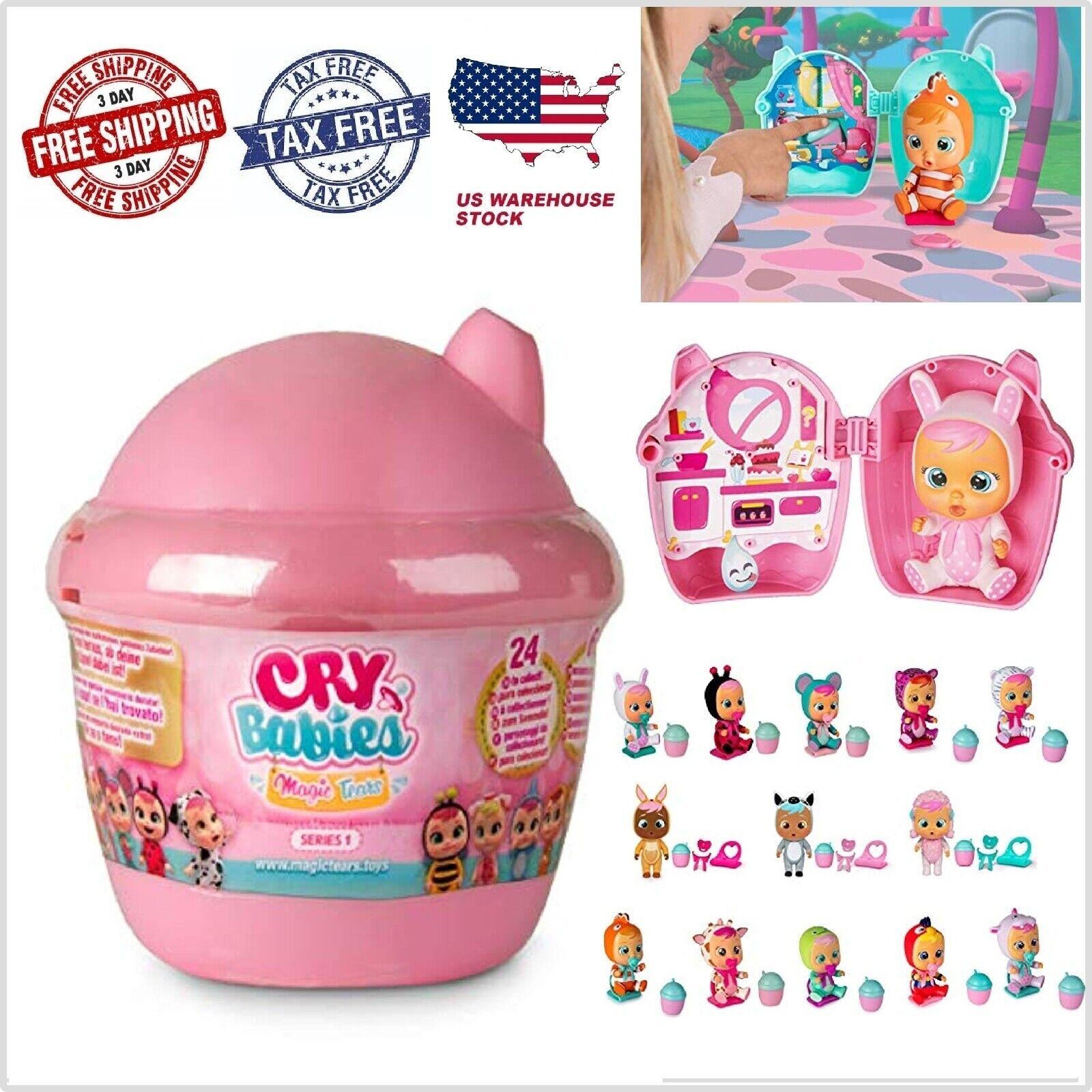 NEW Bebes Llorones o Cry-Baby de IMC Toys Llora con Agua Rea