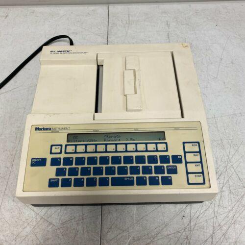 MORTARA INSTRUMENT ELI 100/STM 12 LEAD ELECTROCARDIOGRAPH TESTED