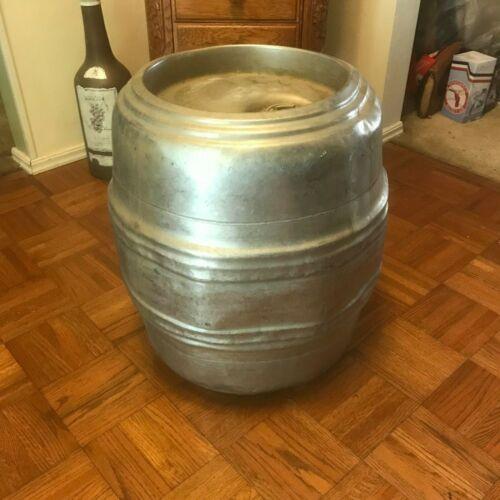 Vintage Anheuser Busch 1/4 Barrel Pony Keg Steel 7.75 Gallons