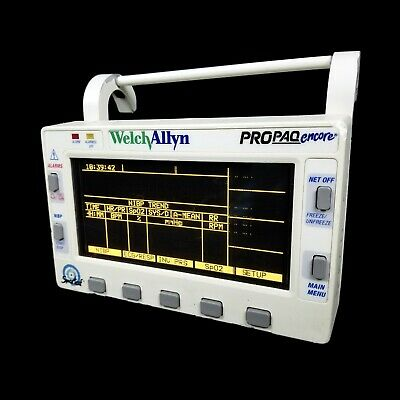 Welch Allyn Propaq Encore 206 El Patient Vital Signs Monitor 1