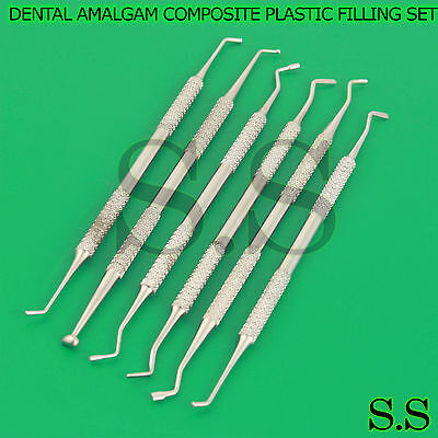 Dental Amalgam Composite Plastic Filling Instruments Set Dental Basic Pr-0095