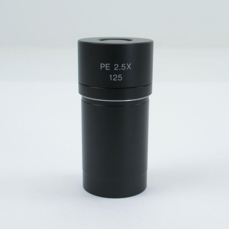 OLYMPUS PE 2.5X 125 MICROSCOPE PHOTO EYEPIECE