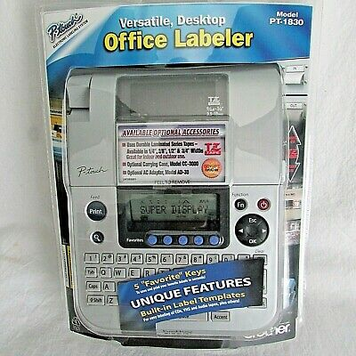 Brother P-touch Pt-1830 Label Thermal Printer New