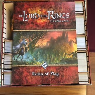 Lord of the Rings Living Card Game + Expansions and Sagas