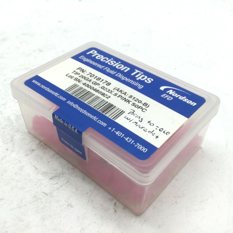 """Nordson EFD 7018178 Dispensing Tip Kit, 20 Gauge Pin Length: 1/2"""""""