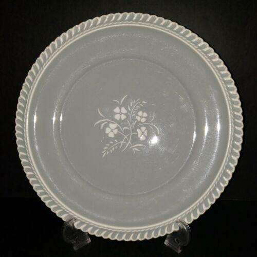 """Harkerware Chesterton Gray - 10 1/4"""" Dinner Plates - Lot of 8"""