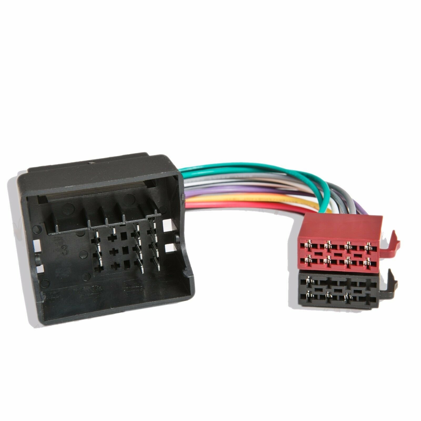 Ford Transit Quadlock Radio Wiring Iso Harness Headunit Connector Plug Connectors Loom