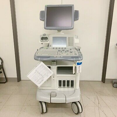 Ge Logiq 9 Ultrasound System With Advanced 3d Tissue Harmonics Imaging And Lcd