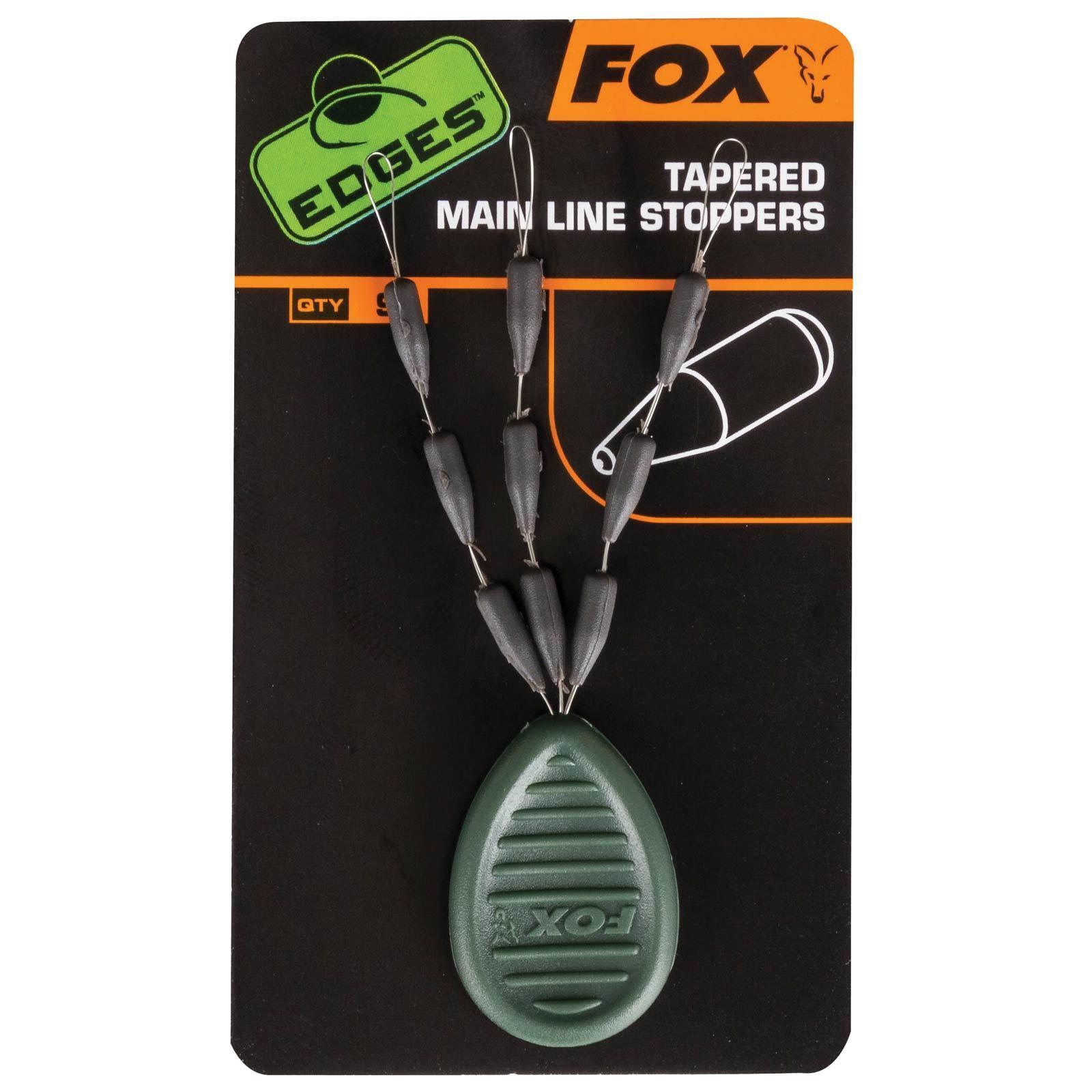 Fox Karpfen angeln Zubehör -Edges Tapered Mainline Sinkers konisch