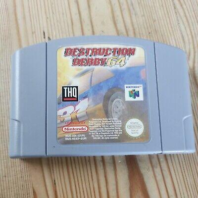 Destruction Derby 64 - N64 Nintendo 64 - Cartridge only - Pal