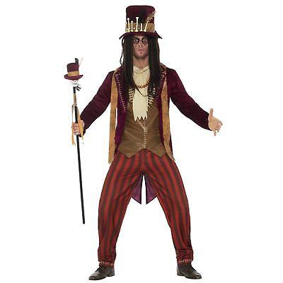 Adult Mens Deluxe Voodoo Witch Doctor Shaman Tribe Halloween Fancy Dress Costume