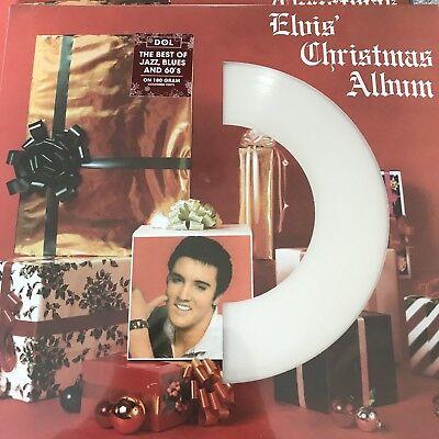 Elvis Presley 'Elvis' Christmas Album' NEW WHITE 180 GRAM Vinyl Lp - SEALED