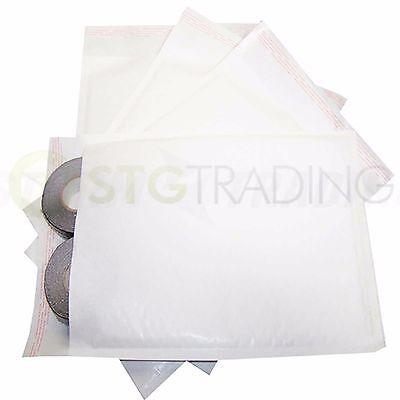 White Padded Bubble Envelopes 240x320mm STG 7 - 50 Envelopes