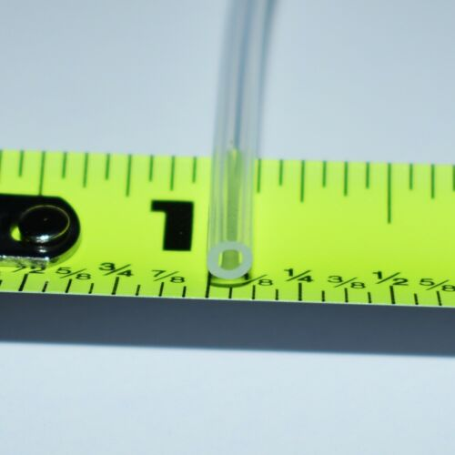 "1/16"" ID x 1/8"" OD Platinum Silicone Tubing Food/Medical hose - High Temp tube"