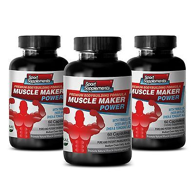 Muscle Maker Power   Testosterone Boost Muscle Sexual Stamina Ultimate Pills 3B