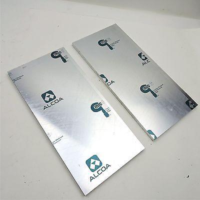 .625 Thick Cast Aluminum Mic-6 Alcoa Flat Plate 6.875 X 13 Qty 2 Sku136819