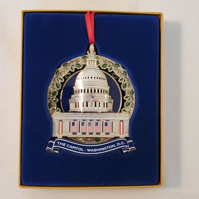 Official 2020 United States (US) Congressional Holiday Christmas Ornament New