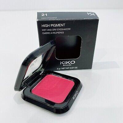 KIKO Milano High Pigment Wet and Dry Eyeshadow - RED - Red Poppy Mat 21