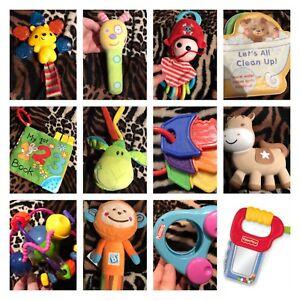 Infant Baby Toy Bundle