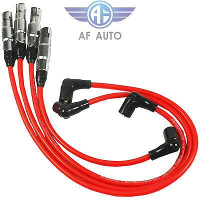 8mm Cable Spark Plug Wire Set 27588 for Beetle Bora VW Golf GTI Jetta 2.0L