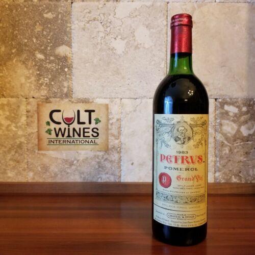 WS 93 pts! 1983 Chateau Petrus Pomerol Bordeaux wine