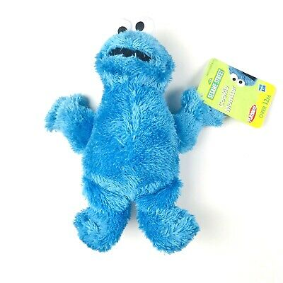 Hasbro Playskool Sesame Street Cookie Monster Soft Plush Toy Collectible 9 Inch