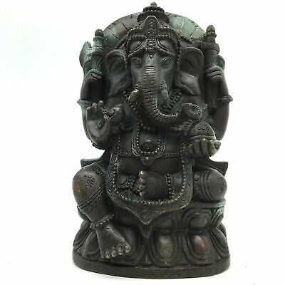 Ganapati Ganesh India Elephant God Statue Sculpture – Obstacle Remover Deity