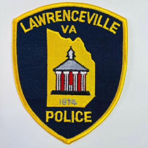 Lawrenceville Police Virginia VA Patch (A5)