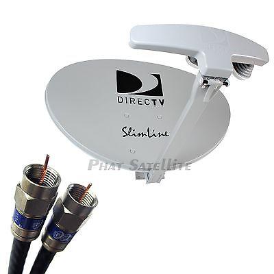 DIRECT TV DIRECTV SLIMLINE KA/KU kaku SATELLITE DISH Antenna SWM5 SWiM 5 SL5s