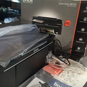 Printer & scanner Epson stylus NX 125 Seacombe Gardens Marion Area Preview