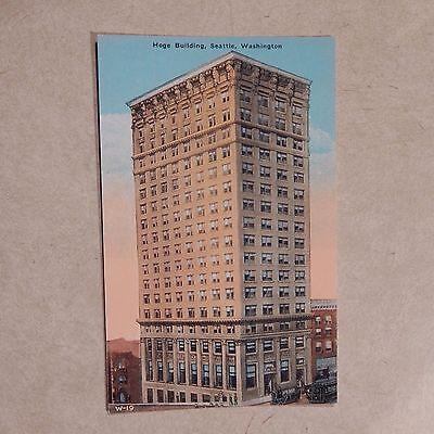 Vintage Postcard Hoge Building, Seattle, Washington