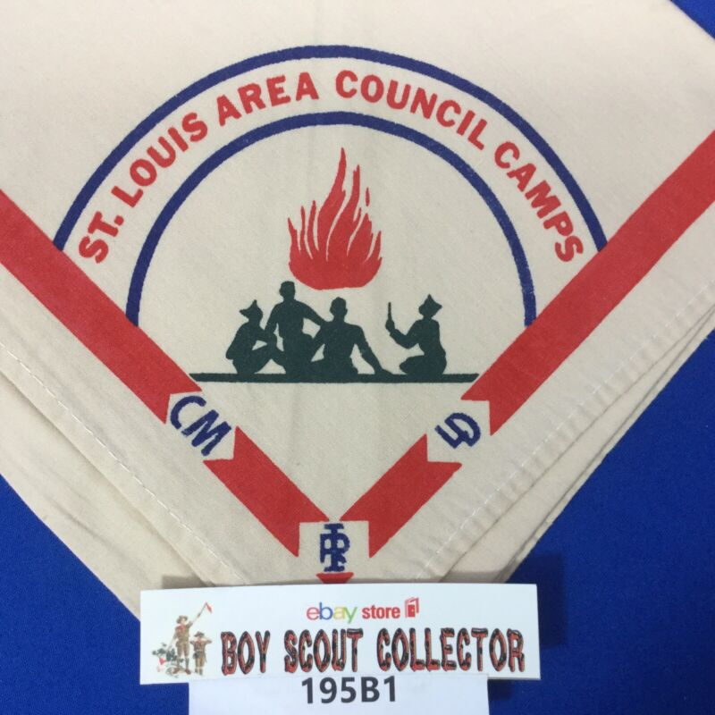 Boy Scout Neckerchief St. Louis Area Council Camps