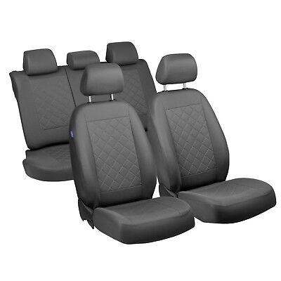 Graue Sitzbezüge für OPEL SIGNUM Autositzbezug Komplett