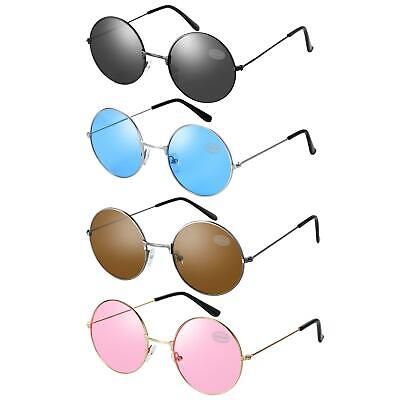 JOHN LENNON SUNGLASSES STYLE GLASSES ROUND UV400 TEASHADES MENS WOMENS 60s (70s Style Sunglasses Mens)